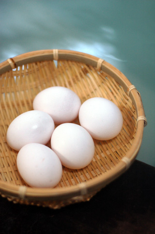 Onsen tamago (Hot springs egg)