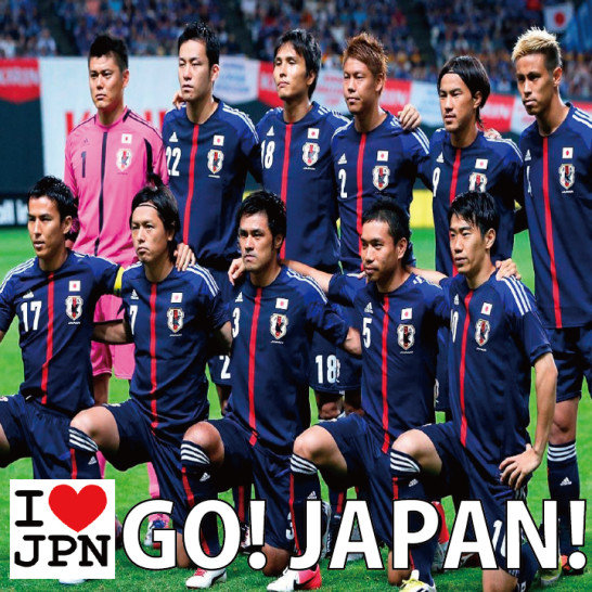 14 546x546 Special movie! Japan National Football Team