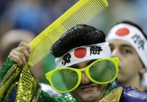 enhanced 15639 1402796698 2 300x208 Fancy dress unique Japanese supporters in brazil World Cup