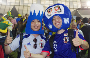 supporter07 300x196 Fancy dress unique Japanese supporters in brazil World Cup