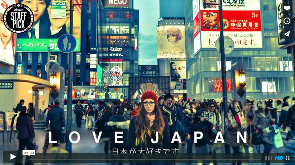 LOVE JAPAN on Vimeo LOVE JAPAN MOVIE