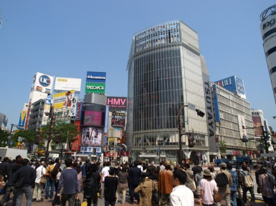 Shibuya Sta. Scramble Crossing